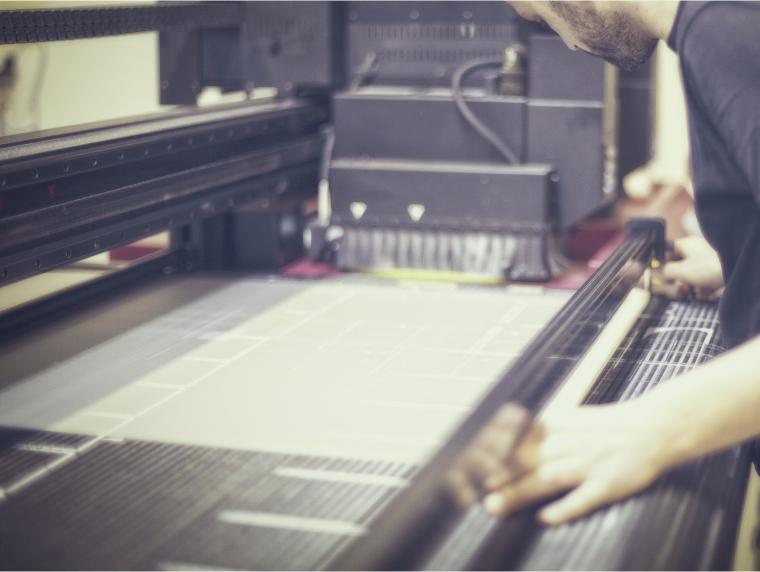 Stampa in digitale anche di grandi formati