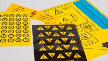 Le etichette adesive segnaletiche